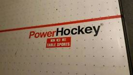 Power air hockey table