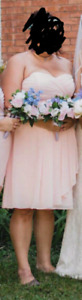 Pink Maid of Honor/Brides Maids dress