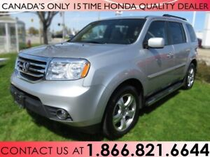 2015 Honda Pilot EX-L | RUNNING BOARDS | 1 OWNER | DVD PLAYER