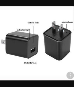 HD Charger Spy Camera