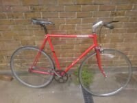 Fixed gear cycle single speed road bike vintage bicycle