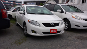 2010 Toyota Corolla Automatic  - Certified, Warranty