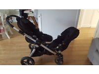 City select baby jogger double buggy for sale
