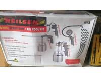 5pc spray gun/air tool kit