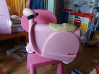kids pink scoot case