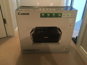 Canon Pixma Mx722 All in One Printer In Excellent Condition