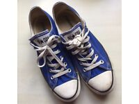 Royal Blue Converse Size 7