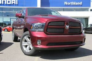 2016 Ram 1500 Sport/Leather/Navigation/Sunroof/Alloys