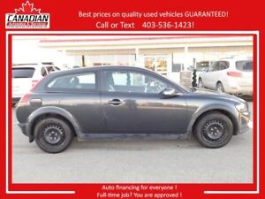 2009 Volvo C30 2.4i LOADED REDUCED FIANCING! STAMPEDE SALE!