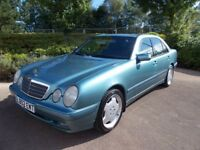Mercedes E200 Kompressor Automatic 75000 fsh