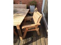 Charles Taylor 6ft x 6ft Garden Table