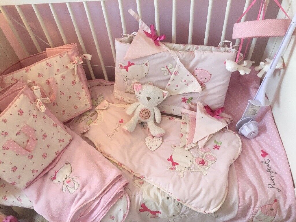 S Nursery Cot Bedding Set Etc From Next Chloe Cat Collection