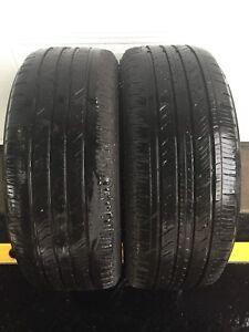 2 tires / 2 pneus P 235 55 R17 Continental ContiPro