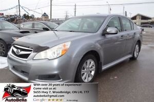 2011 Subaru Legacy 2.5 i PREMIUM AWD Bluetooth No Accident