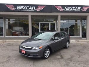 2012 Honda Civic EX 5 SPEED A/C SUNROOF ONLY 99K