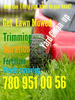 How Can I Help you ? LAWN MOW & +