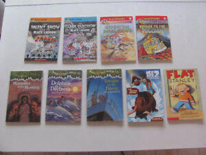 Magic School Bus & Magic Tree House plus other books