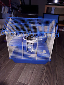 Small animal cage for gerbils, hamsters or mice