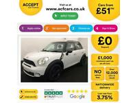 MINI COUNTRYMAN 1.6 2.0 COOPER S D ONE ALL4  BUSINESS EDITION FROM £51 PER WEEK!