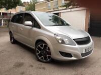 2012 Vauxhall Zafira 1.6 Petrol Design PCO Ready