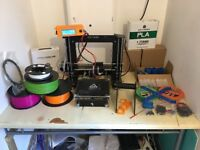 3D PRINTER CTC I3 (PRUSIA I3) WITH LOADS OF EXTRAS