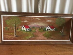 Original Landscape Painting ,framed-artist Alfred Smart