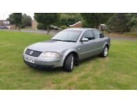 VW PASSAT 1.9 TDI PD SPORT 6 SPEED GEARBOX CAT C STARTS AND DRIVES EXCELLENT.