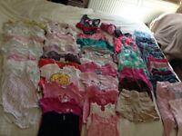 Girls Summer Clothes Bundle (9-12 months)