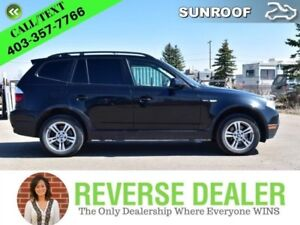 2008 BMW X3   Pure Luxury! Leather, Rear Cam, Heated Steering Wh