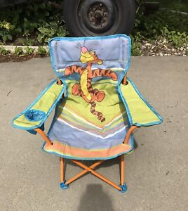 Tigger children's lawn chair in excellent condition
