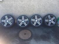 """Wolfrace 17"""" Alloys For sale"""