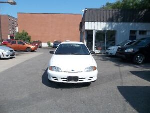 2001 Chev Cavalier Sedan 128000 km only  safety and E test