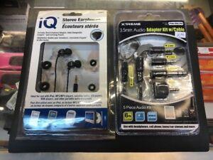 Earbud Headphones or Extension/adapter  $ 9.99