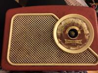 Vintage Dansette 222 transistor radio