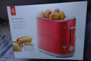 Hot Dog Toaster - never used. All in one hot dog machine