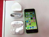 Apple iPhone 5c 32GB Green, Unlocked + Warranty, NO OFFERS