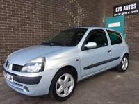 RENAULT CLIO DYNAMIQUE 1.2 SUPERB CAR APRIL 2018 MOT
