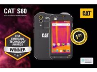 CAT S60 Thermal Imaging Rugged Dual SIM Smartphone BRAND NEW + UNLOCKED