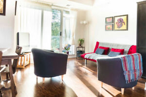 Modern 1 bedroom condo for rent near Civic and little Italy