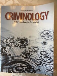 Second Edition Criminology text book