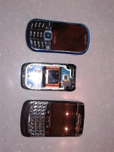 Lot of cellphones