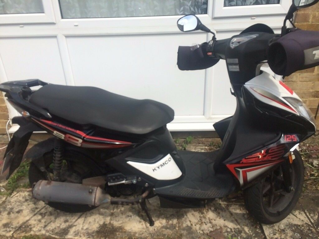 125 cc Scooter Kymco Super 8 (not Chinese make)