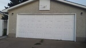 Double Detached Garage in South Edm. for Rent