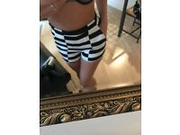 River Island size 10 / 36 shorts high waisted