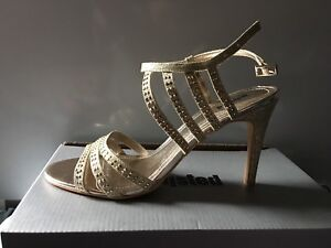 Gold Formal Shoes - Never Worn