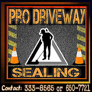 """Pro Driveway Sealing ... """"We Can Seal the Deal"""" for you !!"""