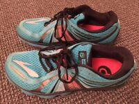 BROOKS PURE CADENCE 2 TOP RUNNING TRAINERS AND WOODLAND BOOTS