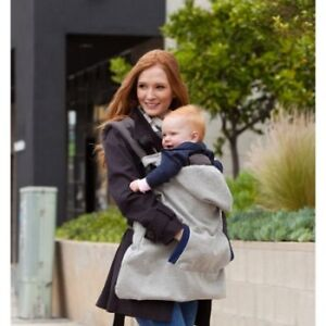 Infantino Hoodie Universal All Season Carrier Cover, Gray