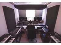 PERFECT for music, video and audio producers - sound treated studios in creative community!