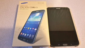 Galaxy tab 3 sm-t310 tablet with case